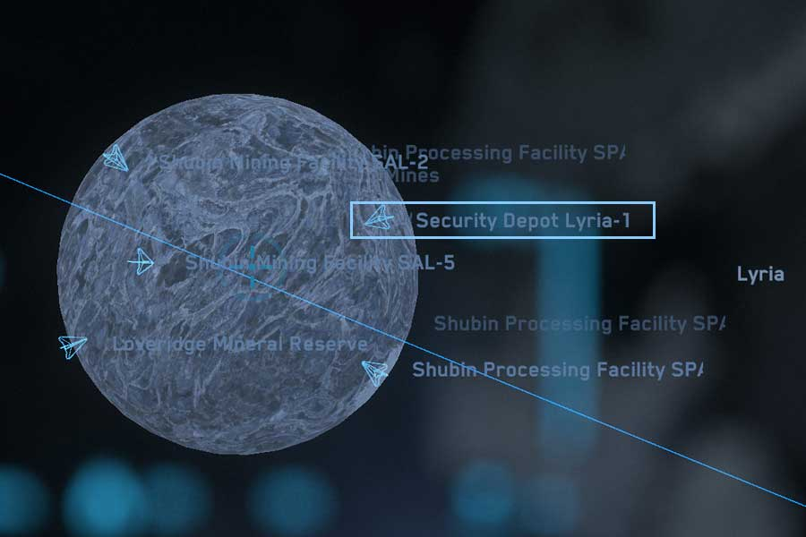 Star Map: Security Deposit Lyria
