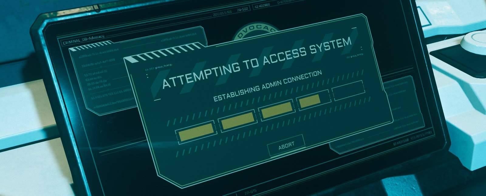 Crimestat hacken: die Konsole