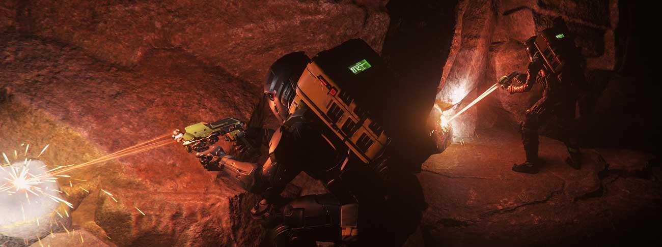 FPS Mining auf Daymar
