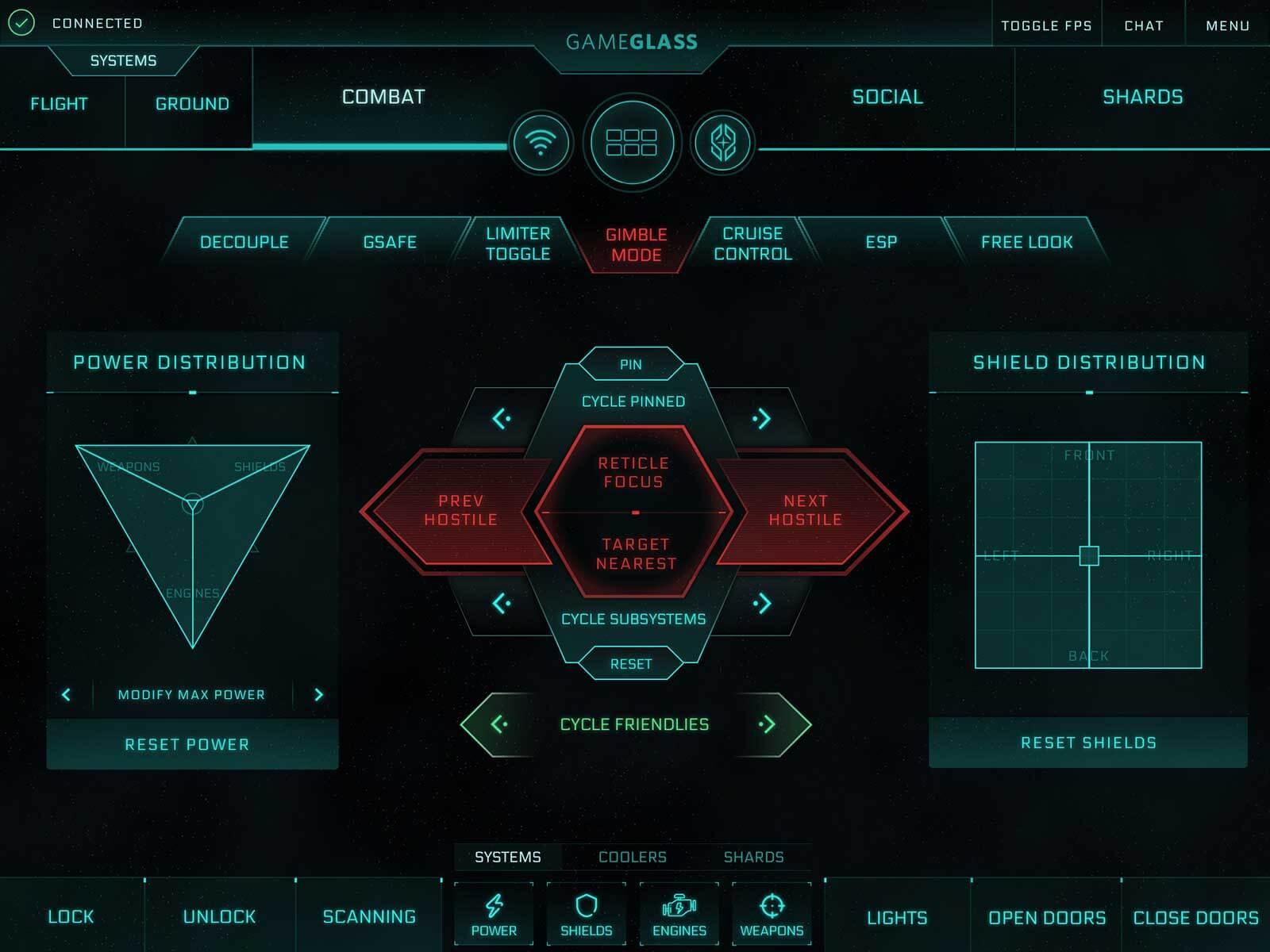GameGlass Screen Combat