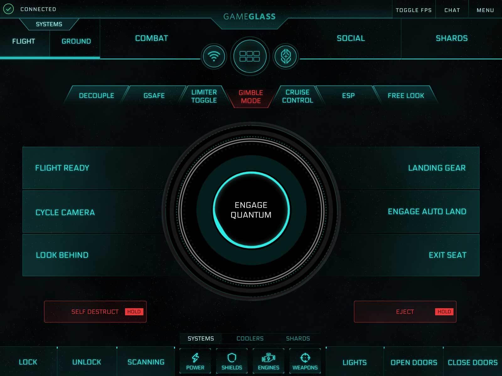 GameGlass Screen Flight
