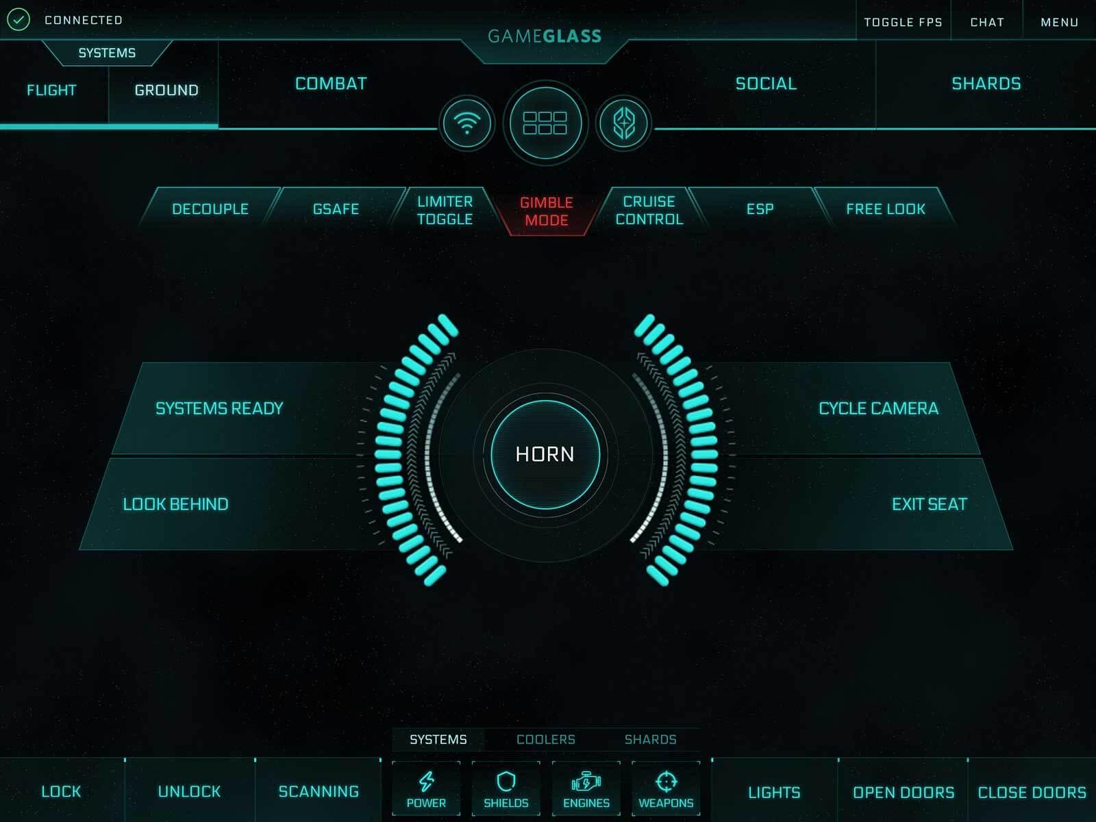 GameGlass Screen Ground