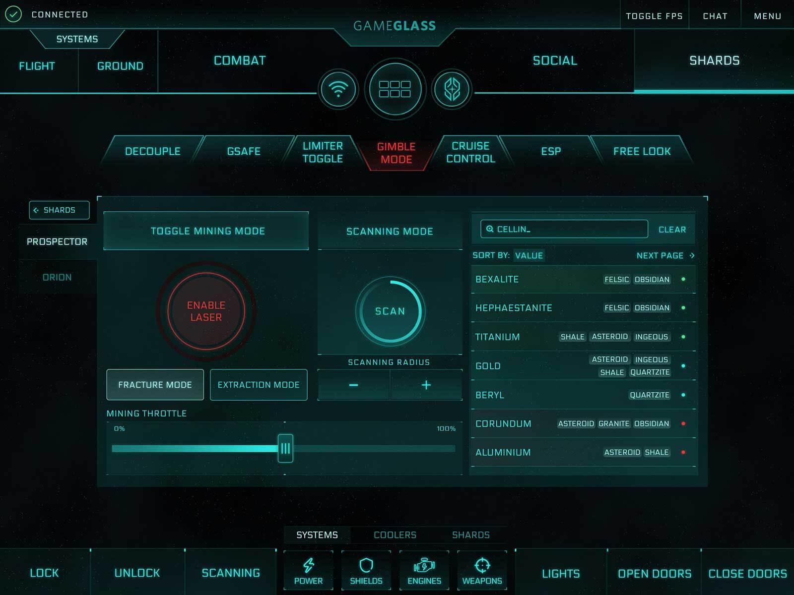 GameGlass Screen Mining