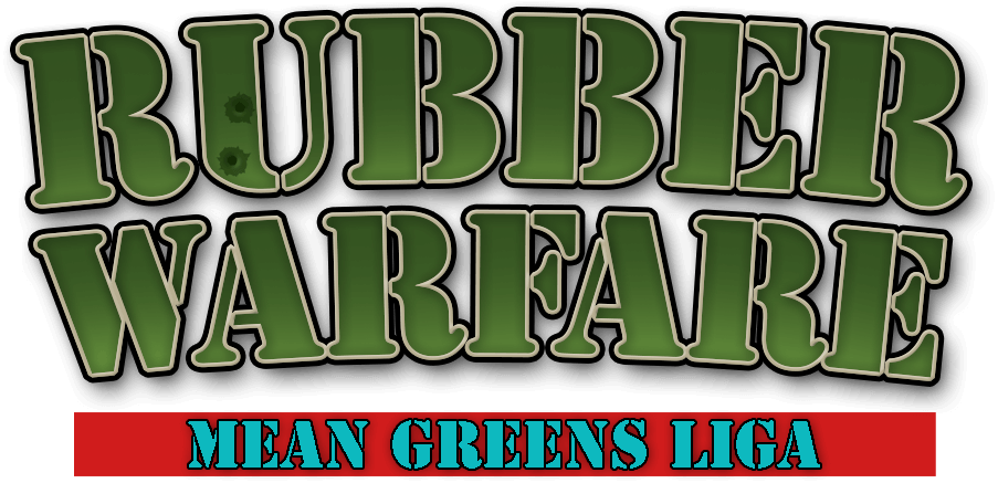 Haus Enten Rubber Warfare Mean Greens Liga Logo